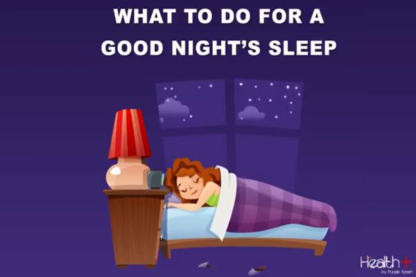 what to do for a good night s sleep