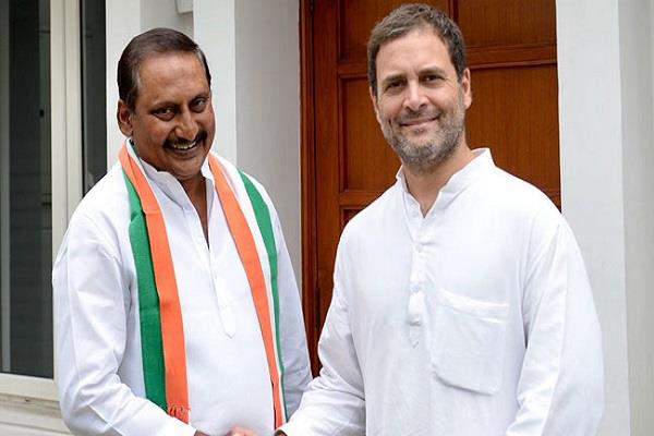 kiran reddy return to congres