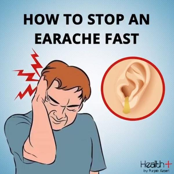 how to stop an earache fast