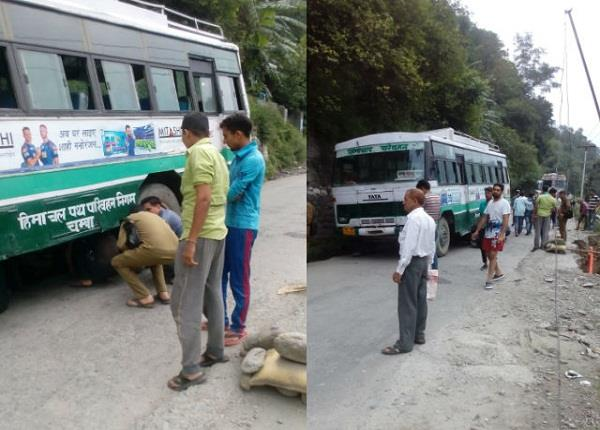 chamba in driver sensibly the big accident