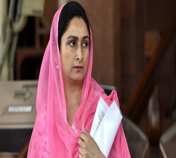 harsimrat kaur badal attacked rahuls smiling statement