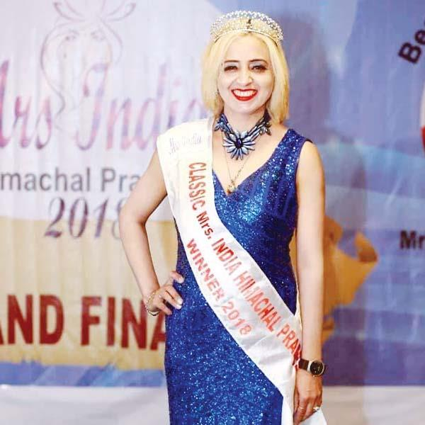 satwinder kaur to go to chennai to participate in mrs india s grand finale