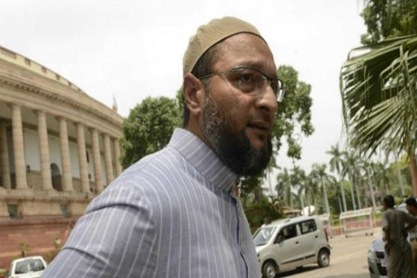 owaisi says the cow is safe in the country but not muslims
