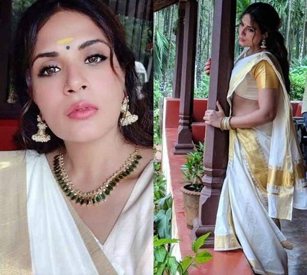 Image result for फिल्म 'शकीला' ऋचा चड्ढा का लुक