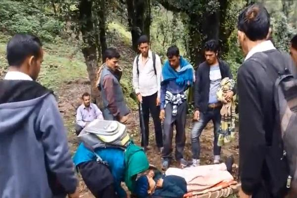 rainfall created problem in the village of kunvari