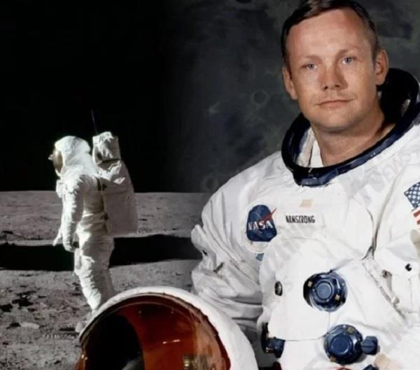 neil armstrong was not first stepping on the moon