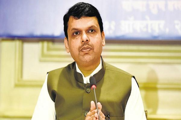 fadnavis removed from the post of cm and will take back support rana