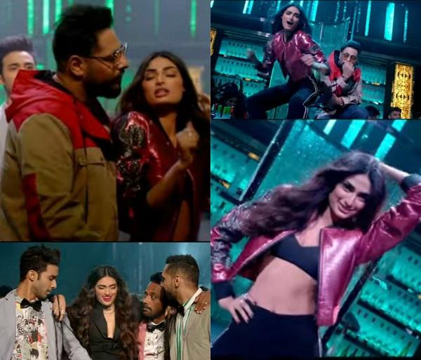 tere naal nachna out from film nawabzaade