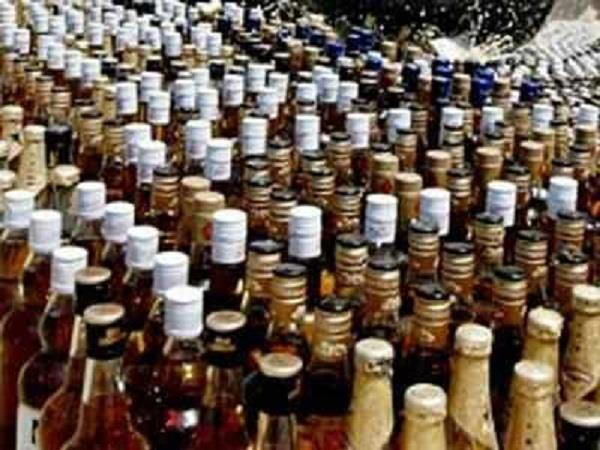 illegal wine recovered