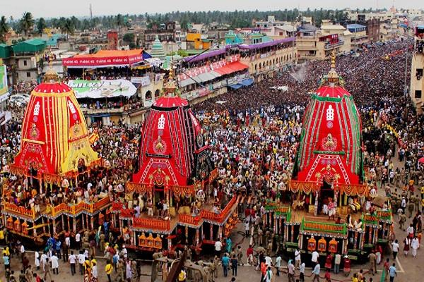 prepation for rath yatra in gujarat
