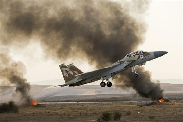 syrian air force targets israel fighter plane