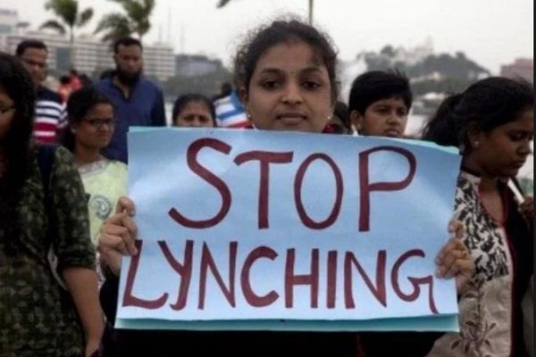 rajnath singh parliament mob lynching bjp