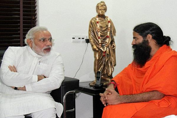 new york times wrote ramdev more powerful to pm modi