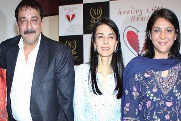 sanjay dutt sister namrata watched sanju