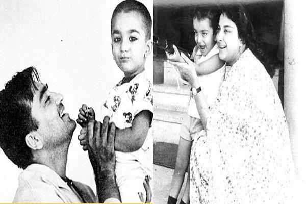बचपन से ही CUTE हैं संजय दत्त, B'DAY पर देखें उनकी CHILDHOOD तस्वीरें