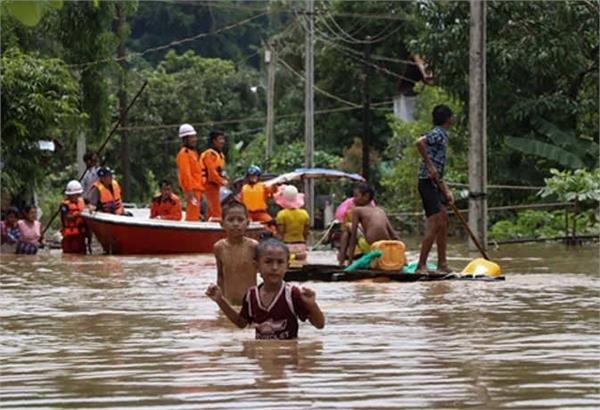 1 lakh 20 thousand people displaced in floods in myanmar 11 deaths
