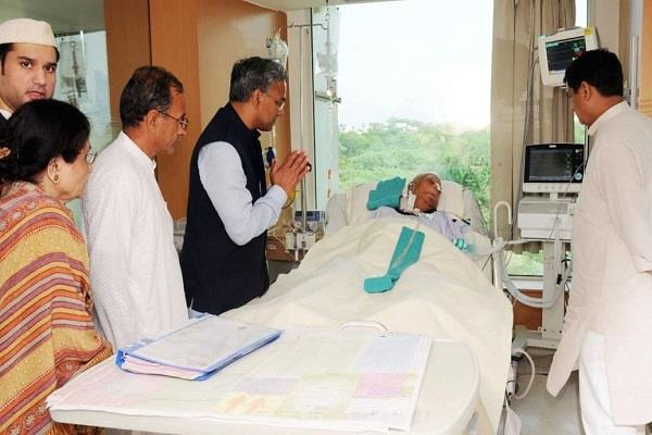 nd tiwari health does not improve