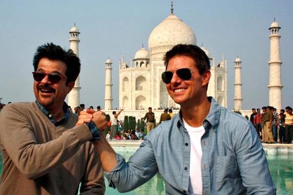 'मिशन इंपोसिबल' के लिए टॉम क्रूज को अनिल ने दी बधाई, कहा-हर फिल्म में अपने स्टंट.....