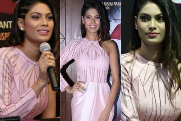 lopamudra raut debut film blood story poster launch