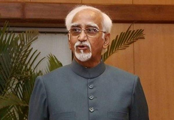 former vice president hamid ansari has supported shashi tharoor s statement