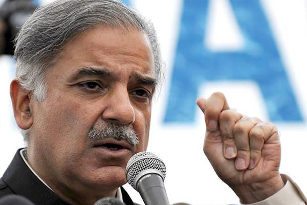 shahbaz sharif said nawaz sharif kept in terrorist prison