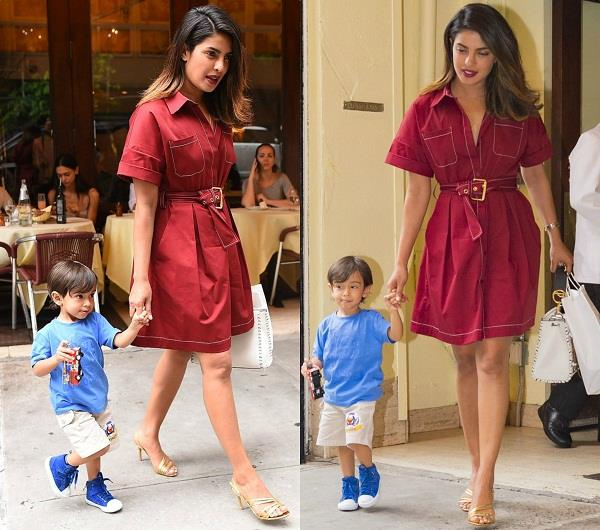 priyanka chopra with ahil sharma pictures