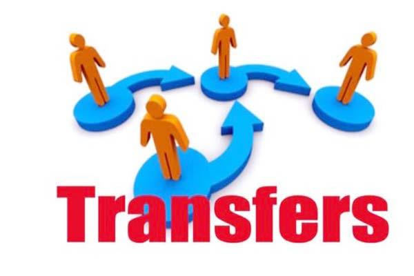 27 head constable constable and hhc transferred