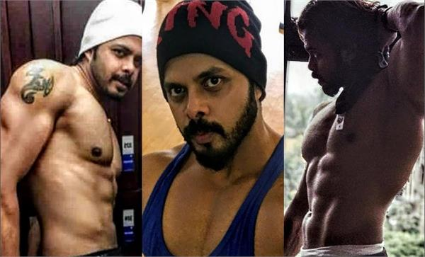 sreesanth change himself to look alike a wwe wrestler