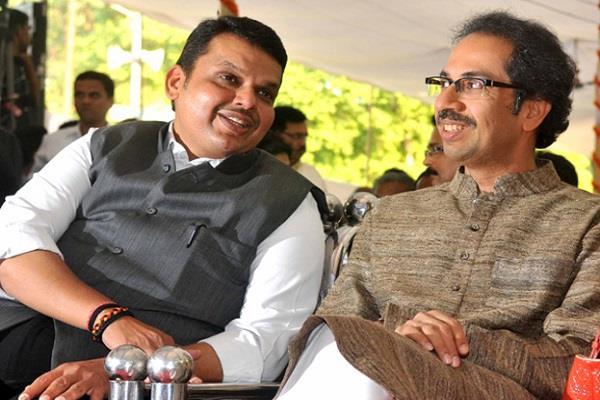 shivsena support bjp reservation issue