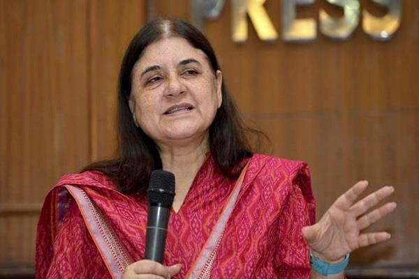 maneka gandhi ordered to monitor all child houses