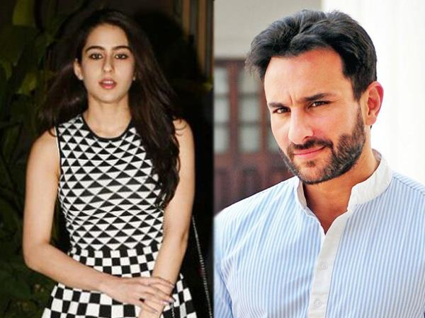 saif ali khan and approaches to sara ali khan father daughter