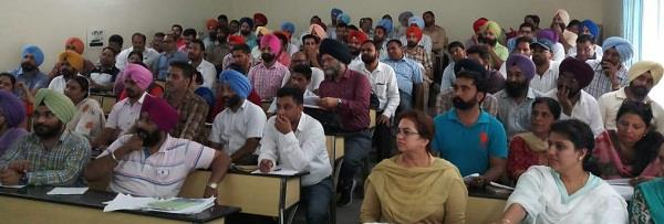 45 percent six to eighth class students in punjab do not know punjabi