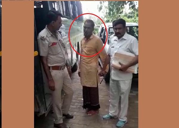 bjp leader younger brother ganja king hassan arrested
