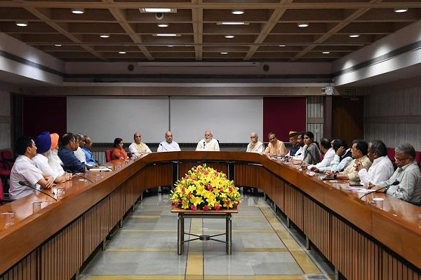 issue of dalits raised in nda meeting