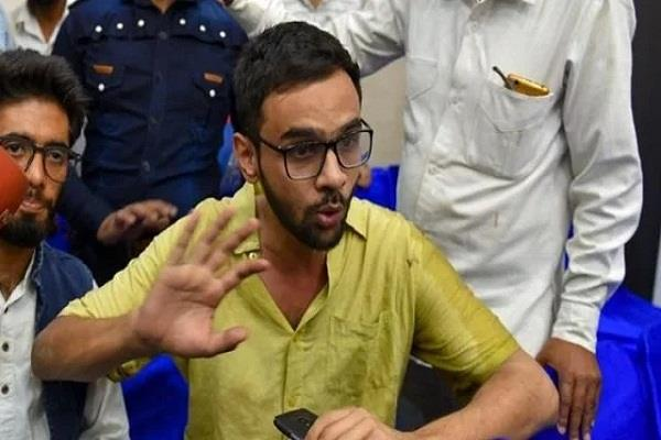 explanation of delhi police gaurkinder had attacked umar khalid