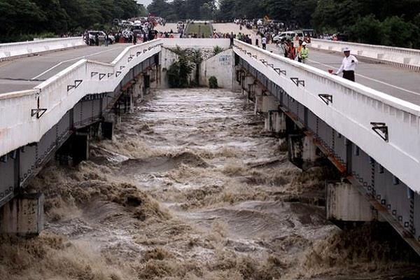 floods in 100 villages in myanmar