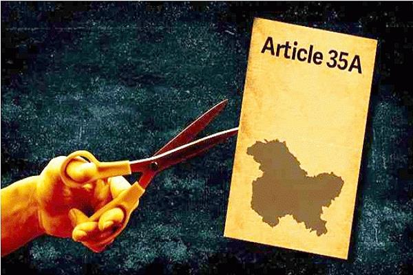 hearing in supreme court on article 35a will be discussed on august 27