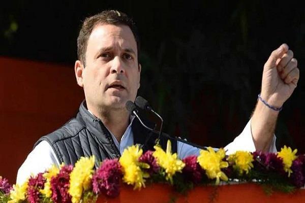 congress president rahul gandhi on azad rajasthan tour