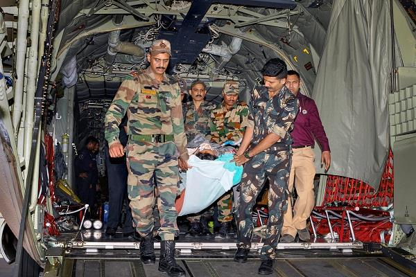 french couple to take safe delhi from leh indian air force