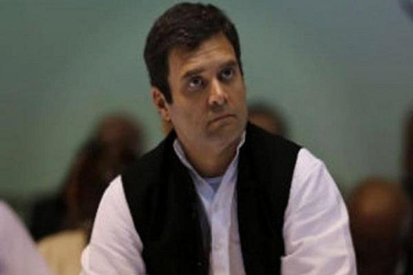 rahul gandhi to visit today on a two day tour of flood affected kerala