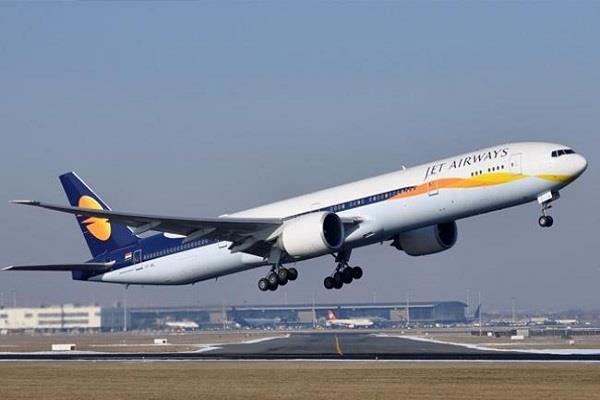 jet airways shares fall sharply