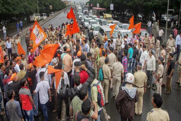 maratha reservation from today to the jail bharo movement in mumbai