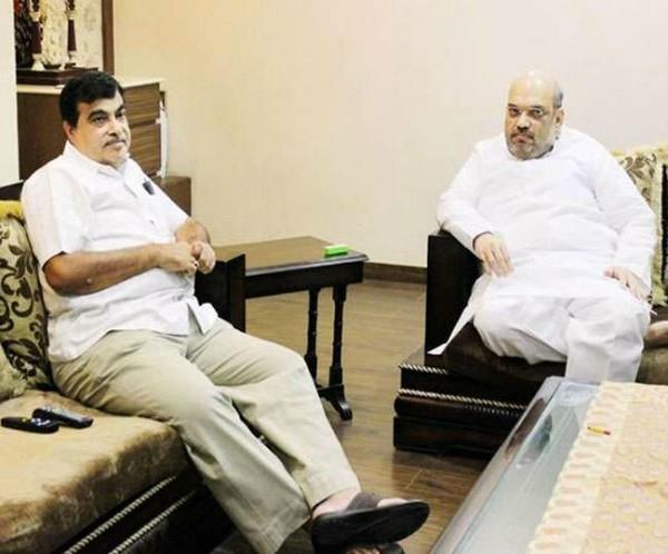amit shah stopped the gadkari motor vehicle amendment bill