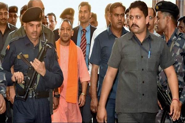 madhya pradesh police uttar pradesh yogi adityanath