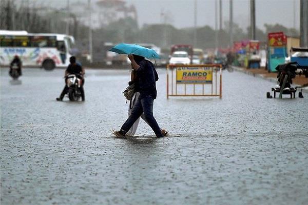 heavy rain warning in 6 state