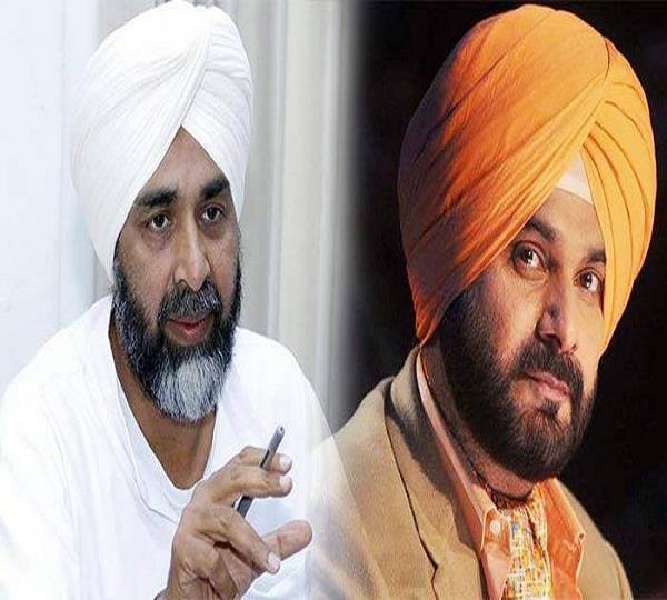 clash between manpreet badal and sidhu