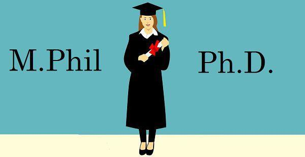 mphil and phd admissions will be given to the reserved category