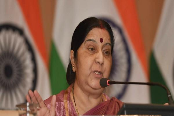 sushma order stirred up bjp mp