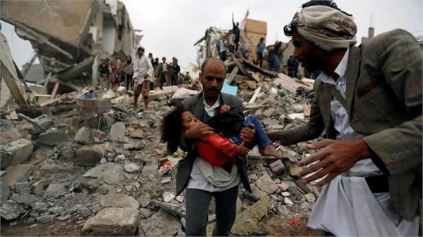 at least 26 children killed in air strikes in yemen sanra