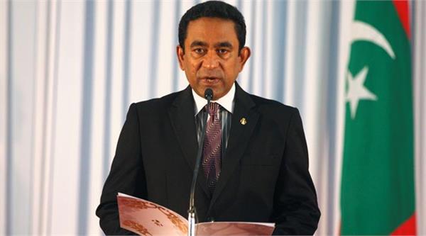 maldives gave india shock over china s assassination